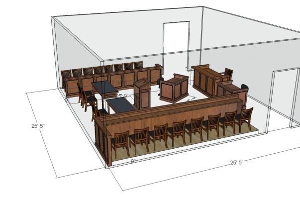 Page 14 Modular Courtroom Catalog