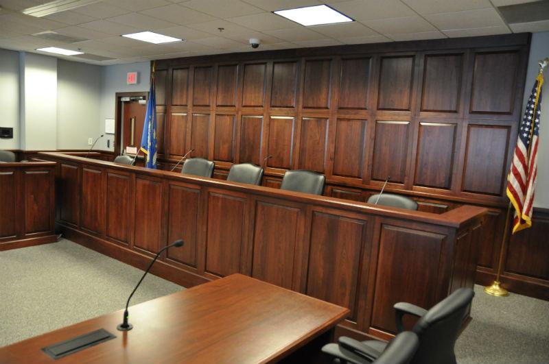 Arnold Reception Desks, Inc. - Courtroom: KENT STYLE on