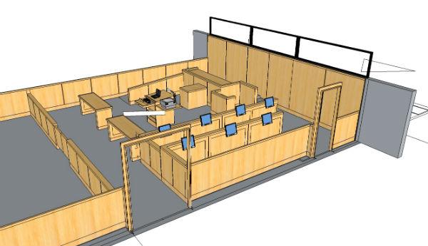 Arnold Reception Desks Kubist Reception Desk Arnold