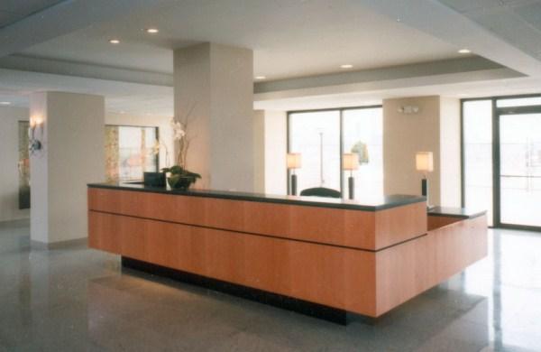 Arnold Reception Desks Inc Lobby Desk Troy