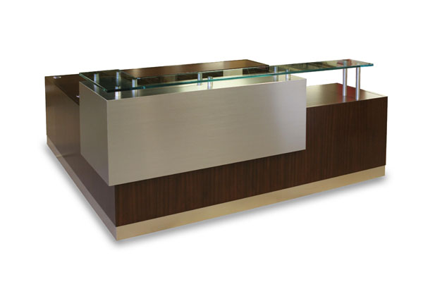 Arnold Reception Desks Inc Contemporary Desk