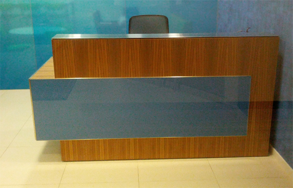 Arnold Reception Desks Inc Custom Anglo Irish Bank