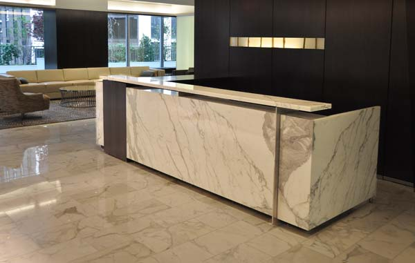 Arnold Reception Desks Inc Custom Anglo Irish Bank
