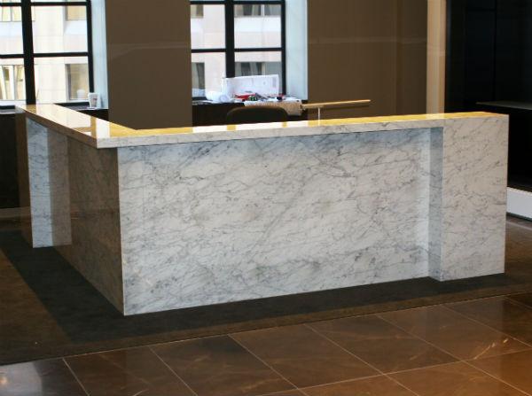 Arnold Reception Desks Inc Custom Prismo
