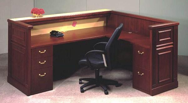 Arnold Reception Desks Inc Traditional Reception Desk